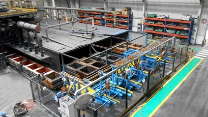 capacity expansion works within a fully operational foundry