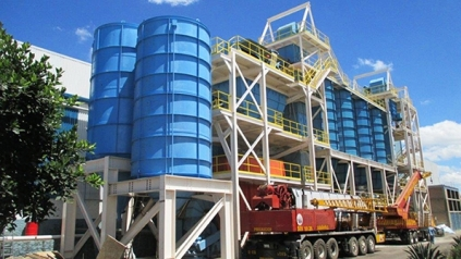 new sandplant for new foundry operations