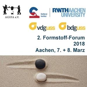 2. Formstoff-Forum 2018, 7.-8. März 2018