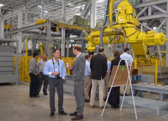 inauguration new foundry realization by Gemco (Mexico)