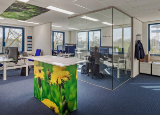 Project Team offices at headquaters in Eindhoven